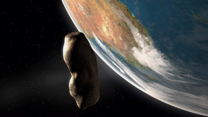 PERICOL? Un asteroid lung de doi kilometri va trece în ajun de Crăciun pe lângă Pământ