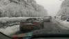 Se întâmplă în România: Plimbare cu decapotabila pe ninsoare (FOTO)
