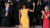 Rochia lui Michelle Obama, la fel de populară ca şi discursul despre starea naţiunii al soţului