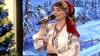 Ajunul Crăciunului pe stil vechi. Interpreta Diana Vieru a colindat la PUBLIKA TV (VIDEO)