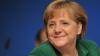 Angela Merkel, surprinsă mâncând la un fast-food din Bruxelles (VIDEO)