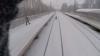 VIRAL pe Internet! Un tânăr rus s-a legat de un tren ca să schieze. Vezi ce a urmat (VIDEO)