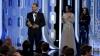 MOMENT AMUZANT la gala Globurilor de Aur. Ce l-a făcut pe DiCaprio să zâmbească (VIDEO)