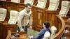 Un deputat a venit la ședința Parlamentului în cârje. Ce i s-a întâmplat alesului (VIDEO)