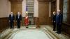 Irina Vlah şi Gheorghe Duca au depus jurământul în faţa preşedintelui Nicolae Timofti (FOTO)