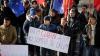 """""""Am obosit de tot ce se întâmplă!"""" Zeci de mii de oameni au ajuns la mitingul din Chişinău (FOTO)"""