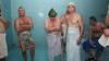 """""""Avem nevoie de sănătate"""". După Crăciun unii moldoveni se relaxează în saune"""