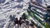 Aventură de neuitat! Mai mulți amatori de schi de tură au parcurs circa 10 km prin raionul Criuleni