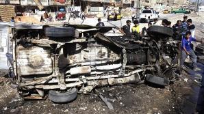Atentate teroriste cu maşini capcană în Irak. Zeci de persoane DECEDATE şi RĂNITE