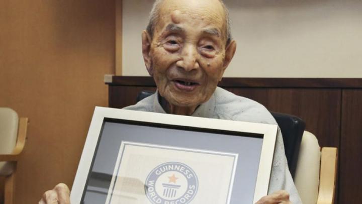 Cel mai vârstnic bărbat din lume recunoscut de Cartea Recordurilor a murit