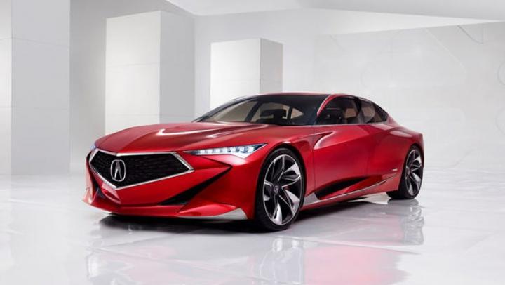 Design futurist: Val de schimbării estetice la Acura Precision Concept