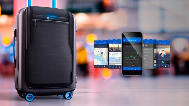 VALIZA viitorului: Îţi va încărca bateria smartphone-ului, iar localizarea ei nu îţi va mai da bătăi de cap