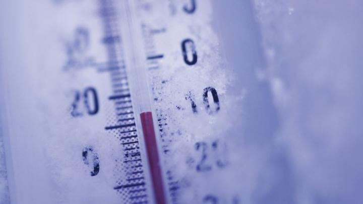 O staţie meteo din Buzău a înregistrat cea mai scăzută temperatură din acest an