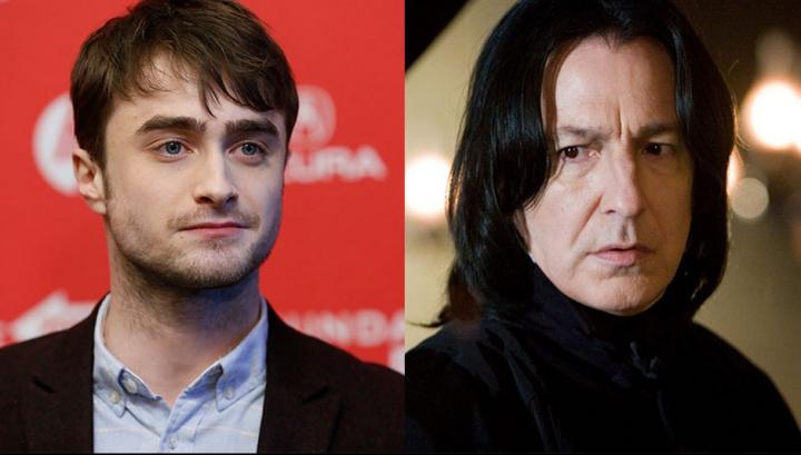 """Mesajul emoționant postat de """"Harry Potter"""" după moartea profesorului """"Snape"""""""