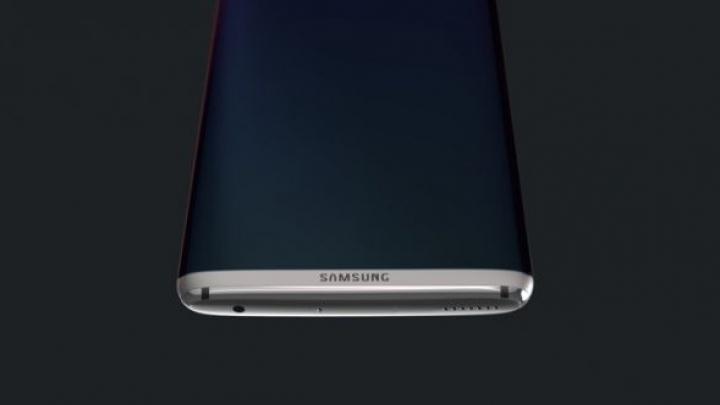 Design superb pentru Galaxy S8 Edge! Cum arată conceptul unui telefon ideal (FOTO/VIDEO)