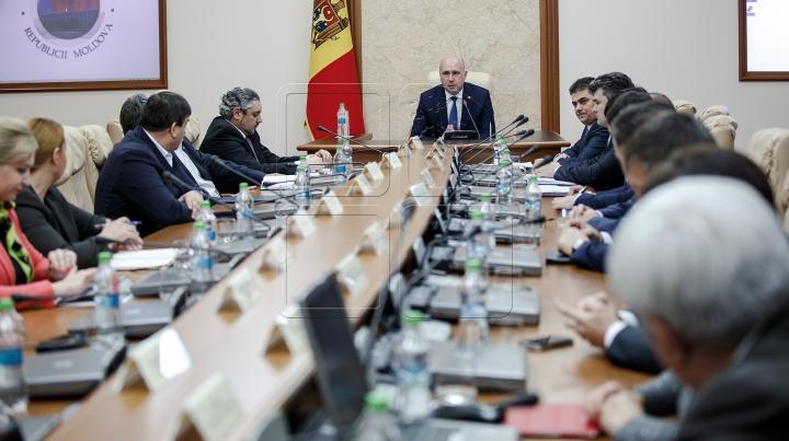 Cabinetul de miniștri a aprobat Planul de acțiuni al Guvernului pentru anii 2016-2018