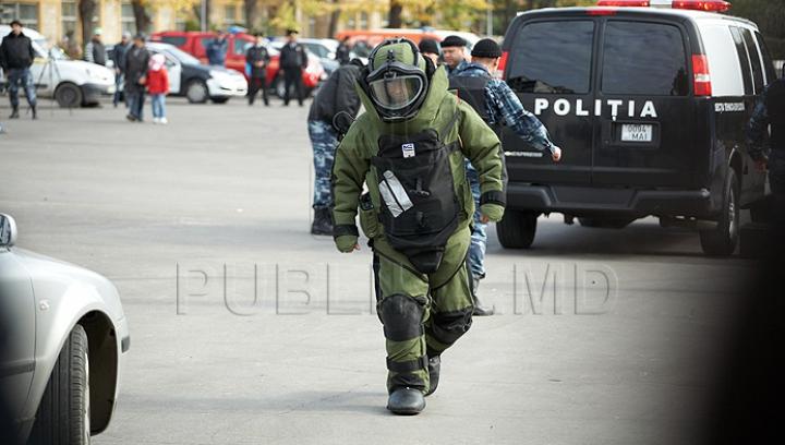 Alarma cu bombă din fața Parlamentului a fost FALSĂ. Acum se caută autorul