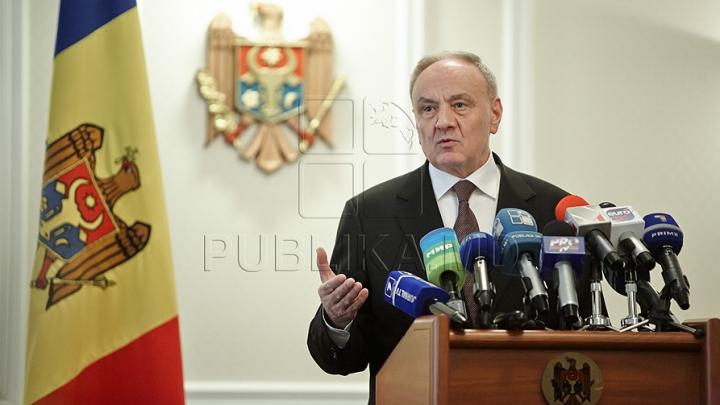 Şeful statului, Nicolae Timofti, riscă să rămână fără funcţie. ANUNŢUL IMPORTANT făcut de deputaţi