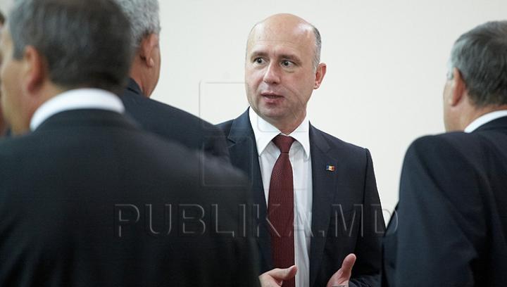 Premierul desemnat, Pavel Filip, începe consultările cu fracțiunile parlamentare