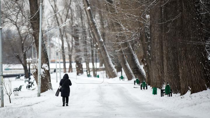 Frumusețea iernii. Imagini inedite cu prima zăpadă din acest an (FOTOREPORT)