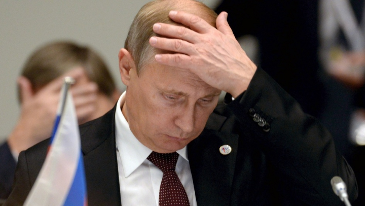 O salvare cât un troleibuz pentru Vladimir Putin. MOTIVUL pentru care preşedintelui i s-ar fi făcut rău