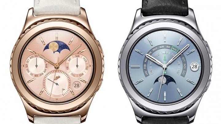 Samsung lansează un smartwatch din platină şi unul din aur roz