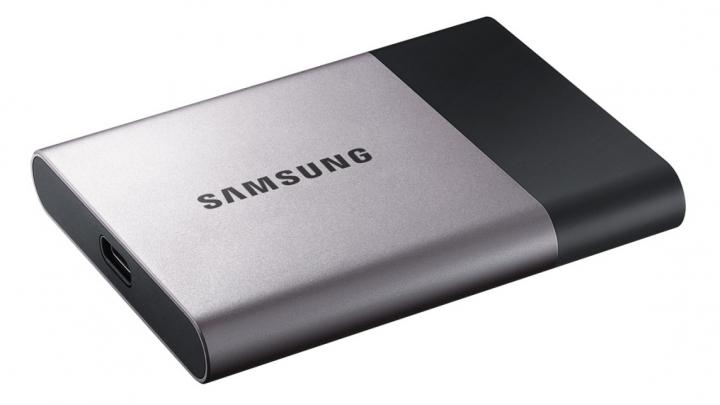 RAPID şi COMPACT. Samsung se laudă cu un nou SSD extern de mare viteză
