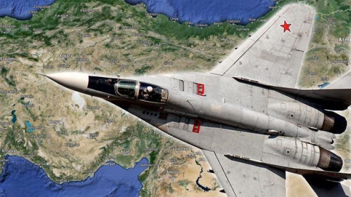 """""""COD PORTOCALIU"""" de doborâre a avioanelor ruseşti. Ce instrucţiuni au primit piloţii turci"""