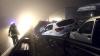 VIDEO din momentul impactului! IMAGINI CUTREMURĂTOARE de la accidentul în care au fost implicate 70 de maşini
