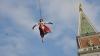 """Carnavalul de la Veneția. Tradiționalul """"Zbor al îngerului"""", urmărit cu fascinație de mii de turiști"""