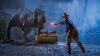Scenă de Jurassic Park pe o insulă din Anglia! Un dinozaur a blocat circulația mașinilor