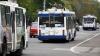 Zeci de troleibuze, BLOCATE pe bulevardul Dacia. Ce s-a întâmplat (VIDEO)