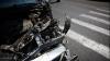ACCIDENT pe strada Munceşti: Un şofer, în stare de şoc după ce s-a izbit cu maşina într-un stâlp (VIDEO)