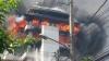Incendiu de PROPORȚII. Un bloc de 10 etaje arde ca o torță (VIDEO)
