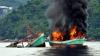 PUBLIKA WORLD: 30 de nave ale braconierilor au fost scufundate în Indonezia (VIDEO)
