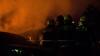 Incendiu la vulcanizarea de la Botanica. Martorii spun DIN CE CAUZĂ au izbucnit flăcările