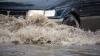 NOAPTE CU GHINION ÎN Capitală! Sectorul Râşcani a fost INUNDAT cu apă fierbinte (VIDEO)
