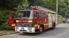 INCENDIU în centrul Capitalei. Pompierii au intervenit în forţă (VIDEO)