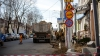 Locuitorii Capitalei, nemulţumiţi de tergiversarea lucrărilor de reparaţie a străzilor Negruzzi şi Alecsandri