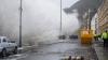 """Furtuna """"Imogen"""" face ravagii în sudul Marii Britanii. Mii de case, fără energie electrică"""