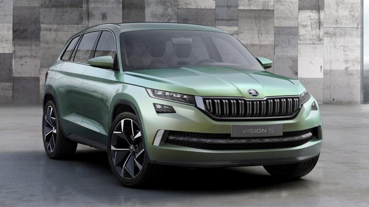 Are şase locuri şi consumă 1.9 litri/100 km! Skoda prezintă imagini cu SUV-ul VisionS