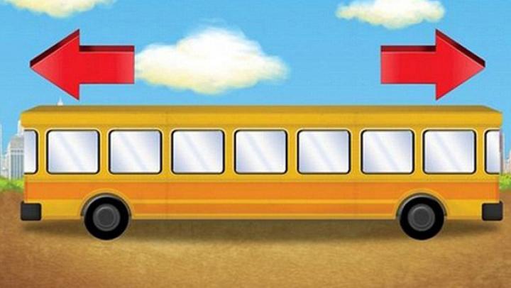 În ce direcţie se deplasează vehiculul? Testul de logică care a pus pe jar utilizatorii de Internet