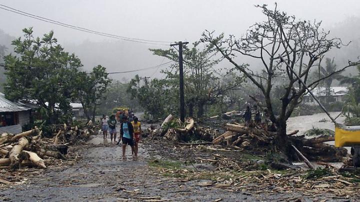 Ciclonul care a lovit insulele Fiji: Bilanțul morților este în creștere (FOTO)