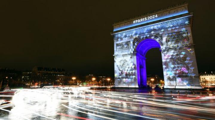 SPECTACOL de lumini. Parisul și-a prezentat logo-ul pentru Jocurile Olimpice din 2024