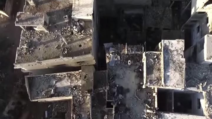 Urmele ÎNSPĂIMÂNTĂTOARE ale războiului! Realitatea TULBURĂTOARE dintr-un mare oraş sirian (VIDEO)