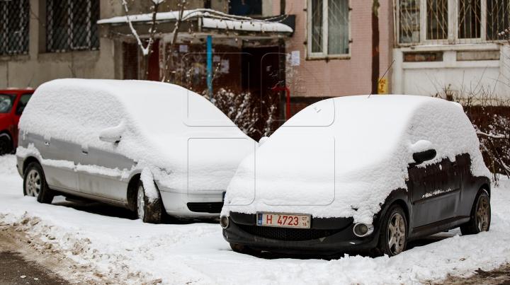 Surpriză de infarct! Cum și-au găsit automobilele dimineața (FOTO)