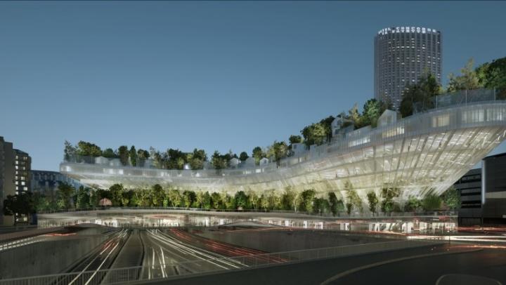 Proiect inedit! Parisul va avea un mini-oraş cu verdeaţă pe acoperişul unei clădiri