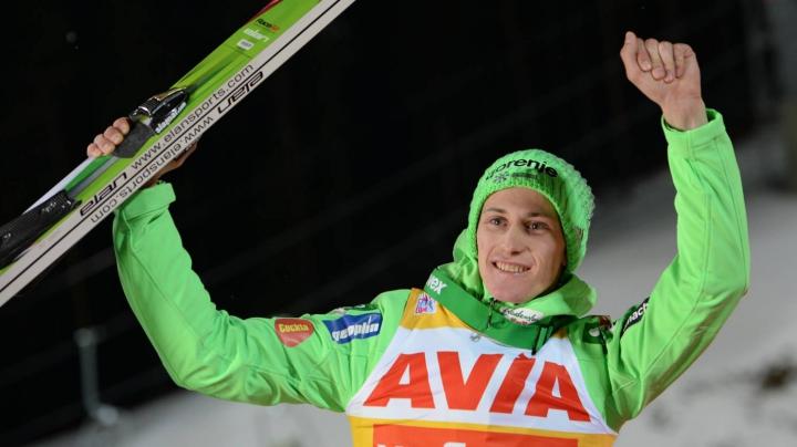 Peter Prevc a triumfat la etapa de la Almatî în cadrul Cupei Mondiale la sărituri cu schiurile