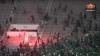 Confruntări VIOLENTE după un meci de fotbal în Maroc. Două persoane au murit