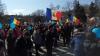 Mesaje ANTI-UNIONISTE, lipite pe panourile din Capitală (FOTO)